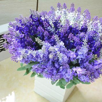 Artificial  Fake Flower Bush Bouquet Home Wedding Decor