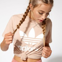 adidas Tan Trefoil T-Shirt at PacSun.com