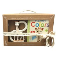 Infant Sophie la Girafe 'So'Pure' Ring Teether & 'Colors' Board Book