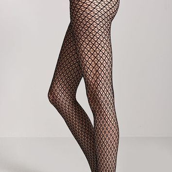 Diamond Mesh Fishnet Tights