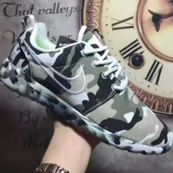 NIKE Women Men Running Sport Casual Shoes Sneakers camouflage
