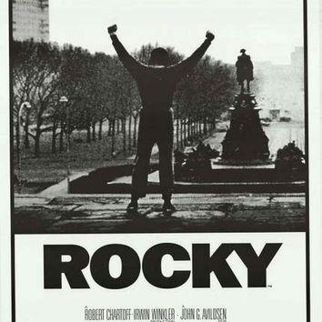 Rocky Victory Steps Movie Poster 24x36