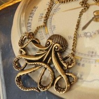 Octopus Fashion Necklace  | LilyFair Jewelry