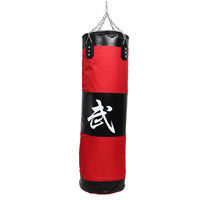 Hot 100cm Training MMA Fighter Boxing Bag Hook Kick Sandbag Fight Sand Punch Punching Bag ISP