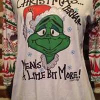 Grinch Christmas Shirt