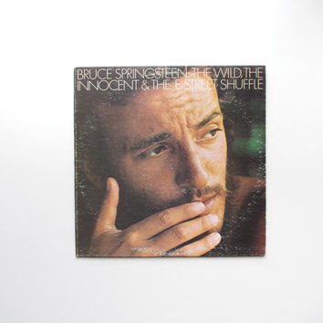 The Wild, The Innocent, and the E Street Shuffle LP by Bruce Springsteen