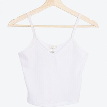 V-neck Cami Crop Top