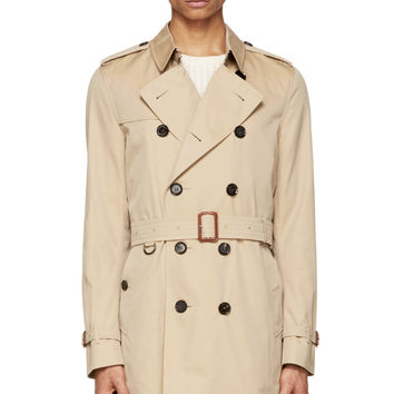 Burberry London Beige Britton Trench Coat