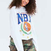 Mitchell & Ness NBA Laurel Wreath Sweatshirt - Urban Outfitters