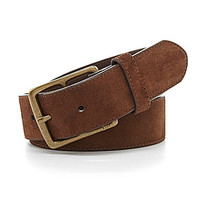 Polo Ralph Lauren Leather Heritage Belt - Dark Brown