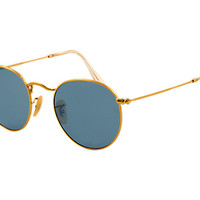 Look at this fancy Ray-Ban's | ROUND METAL