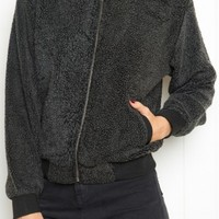 JENNIFER BOMBER JACKET