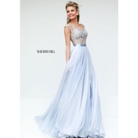 Sherri Hill 11151 Long Illusion Gown