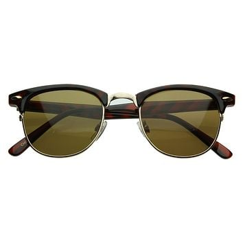 Vintage Half Frame Classic Optical RX Sunglasses 2947