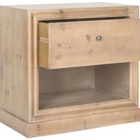 Cain End Table Red Maple