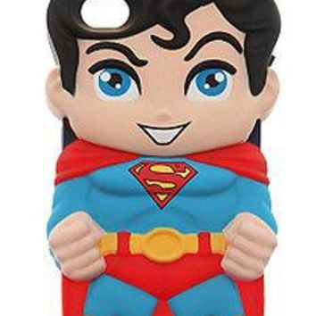 Licensed cool NEW DC  Chara-Covers Series 1 Sculpted Cell Phone Case FITS iPhone 4/4S