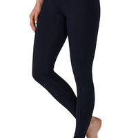 Blue Jasmine Legging With Performance Fabric - Blue