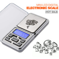 Hot sale 200g x 0.01g Mini Digital Scale LCD Electronic Capacity Balance Diamond Jewelry Weight Weighing Pocket Scales