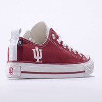 Indiana Hoosiers Official NCAA Skicks Unisex Low Top Sneakers