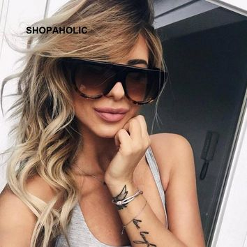 Luxury Vintage Oval Sunglasses Women Brand Designer 2018 Cat Eye Sun Glasses for Women Female Ladies Sunglass Mirror Oculos
