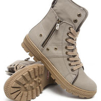 Sahara Coated Twill Boots by Levi's