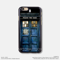 The door of Doctor Who iPhone Case Black Hard case 256