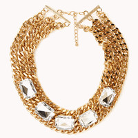 Pretty-Tough Curb Chain Necklace