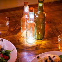 0-000014>LED Cork Accent Light fits any Wine Bottle