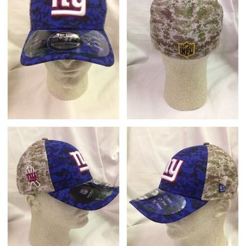 NFL New York Giants New Era OFFICIAL OnField Salute To Service Sideline Hat
