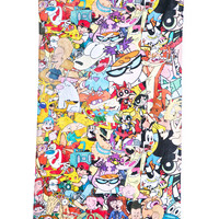 Rage On Totally '90s Beach Towel Multi One