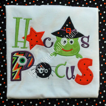Hocus Pocus Halloween - Applique shirt
