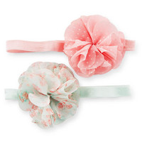2-Pack Plume Baby Headwraps