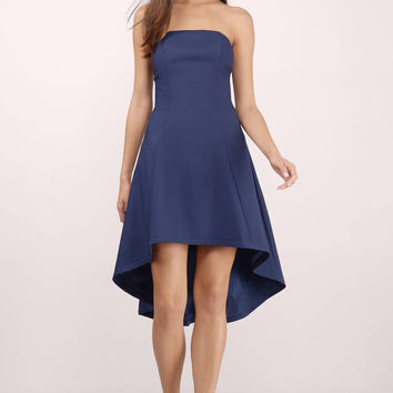 Neverland Strapless Skater Dress