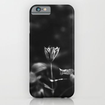 Reaching out - BW iPhone & iPod Case by HappyMelvin Protanopia