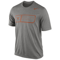 Nike Texas Longhorns 2014 Football Sideline Training Day Legend Dri-FIT Performance T-Shirt - Gray