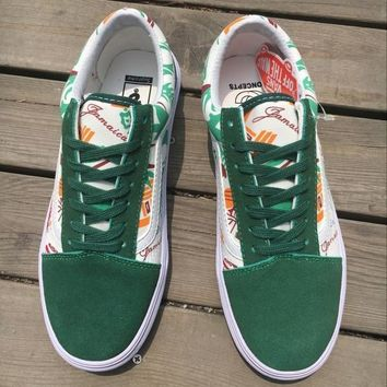 Concepts x Vans Old Skool Pro ¡°Jamaica¡± Flats Sneakers Sport Shoes