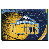 Denver Nuggets NBA Tufted Rug (59x39)