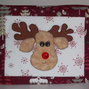 Reindeer Toaster Cover, 2-SliceToaster Cover, Christmas Toaster Cover