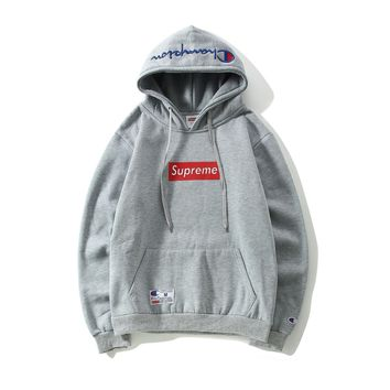 Supreme Champion Like High Quality Thick and Warm Pullover Hoodies