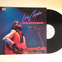 OCTOBER SALE Eric Clapton Big Boss Man LP Album 1984 Rare Dutch Pressing Vinyl Record They Call It Stormy Monday