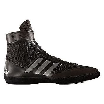 Adidas Combat Speed 5 Black Wrestling or Boxing Shoes