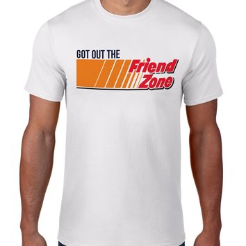 The Friend Zone Tee-Luxury Brand LA