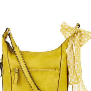 ISSY CROSS BODY SCARF BAG
