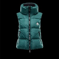 Moncler PETY Basic Green Jackets Nylon/Pa Womens 41311196GX