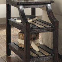 0-001190>Mestler Chairside End Table