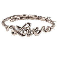 Alex and Ani Love Wrap Russian Silver