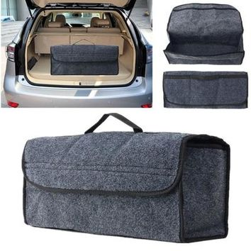 Car Seat Back Rear Travel Storage Organizer