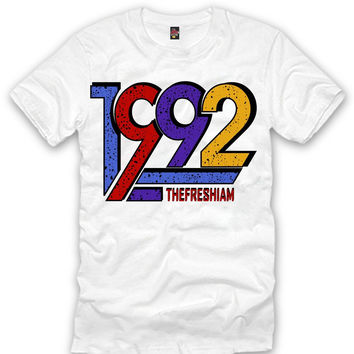 The Fresh I Am Clothing 1992 Sweater 7's Tee
