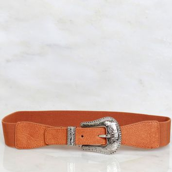 West Coast Buckle Belt Camel