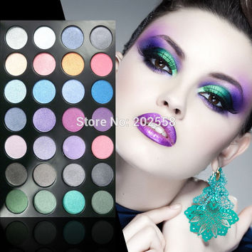 28 colors Urban Eyeshadow Palette the earth color Matte Naked Basics Smoky Makeup Shimmer pallet nude tude Cosmetics